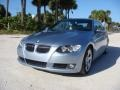 BMW 3 Series 328i Convertible Blue Water Metallic photo #29