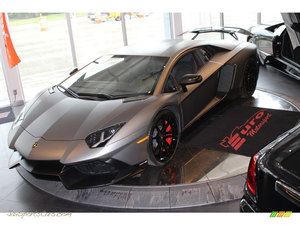 2014 Aventador LP 720-4 50th Anniversary Special Edition - Marrone Apus Matt Finish / Nero Ade photo #1