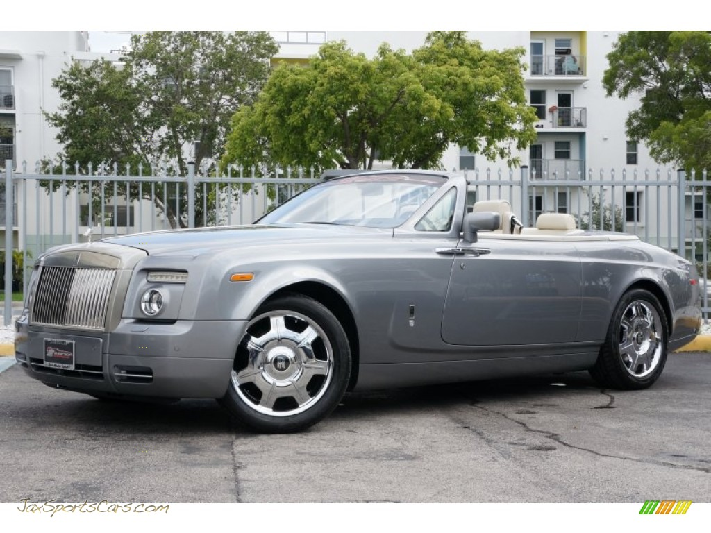 2009 Phantom Drophead Coupe - Jubilee Silver / Creme photo #1