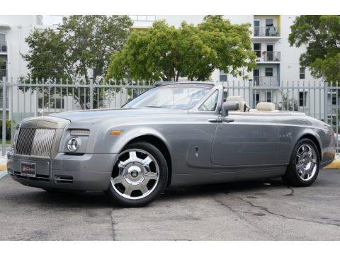 Jubilee Silver 2009 Rolls-Royce Phantom Drophead Coupe