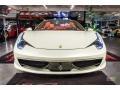 Ferrari 458 Spider Bianco Avus (White) photo #17