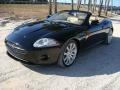 Jaguar XK XK8 Convertible Ebony Black photo #3
