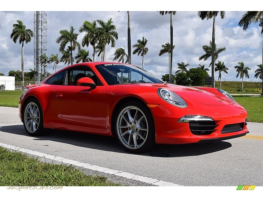 Guards Red / Black Porsche 911 Carrera Coupe