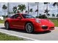 Porsche 911 Carrera Coupe Guards Red photo #1