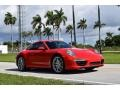 Porsche 911 Carrera Coupe Guards Red photo #2
