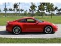 Porsche 911 Carrera Coupe Guards Red photo #4