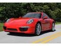 Porsche 911 Carrera Coupe Guards Red photo #10