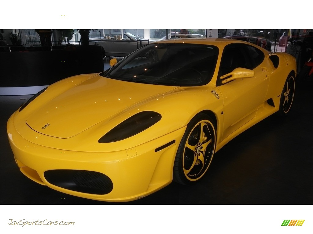 Yellow / Black Ferrari F430 Coupe F1