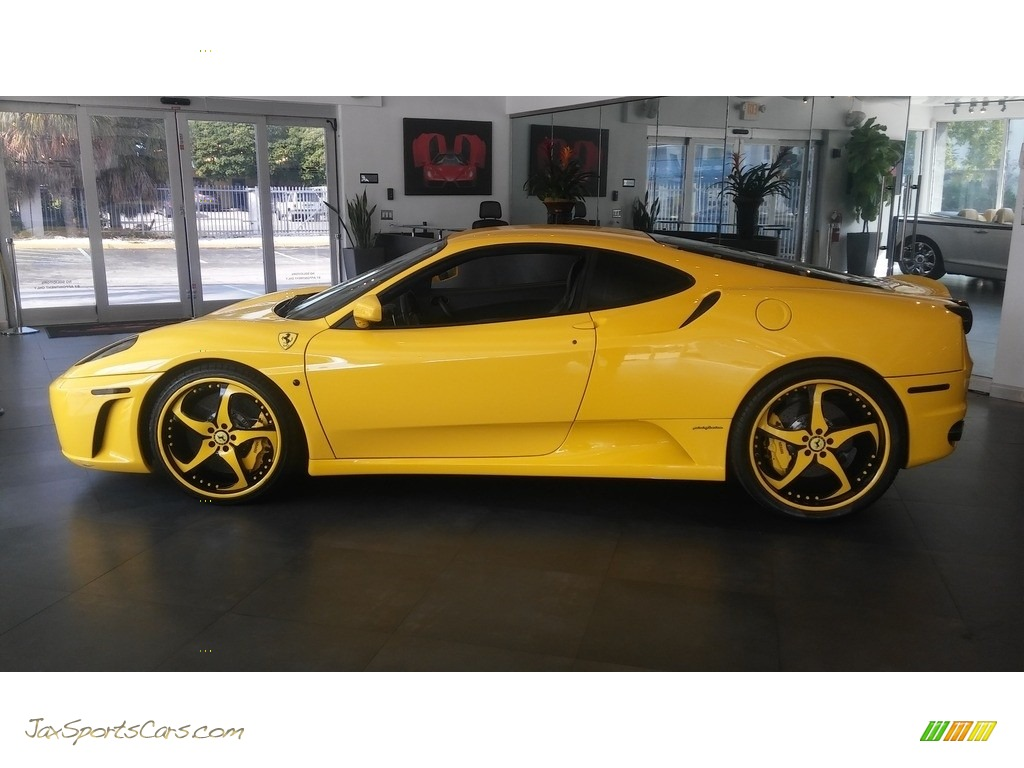 2005 F430 Coupe F1 - Yellow / Black photo #2