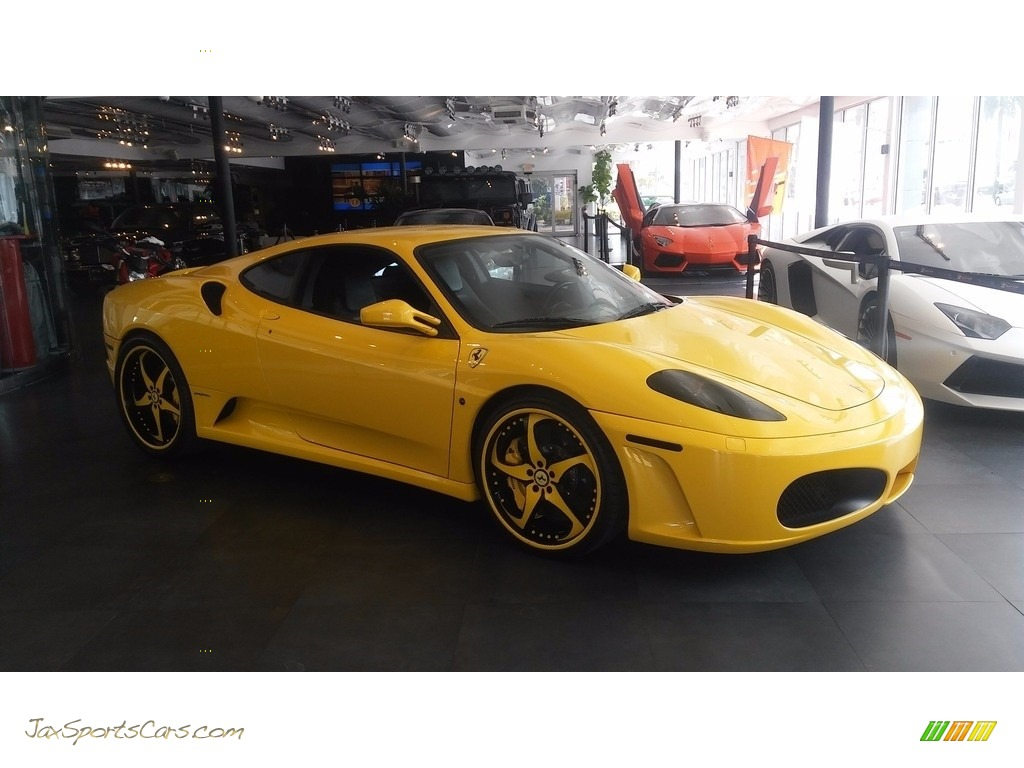 2005 F430 Coupe F1 - Yellow / Black photo #3
