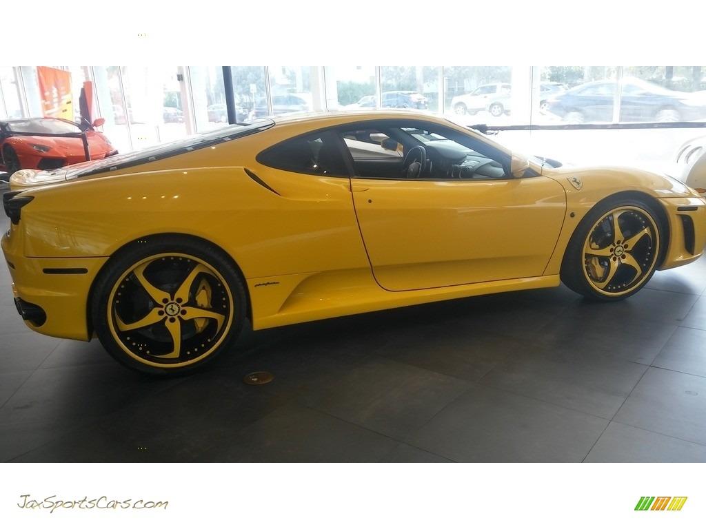 2005 F430 Coupe F1 - Yellow / Black photo #4