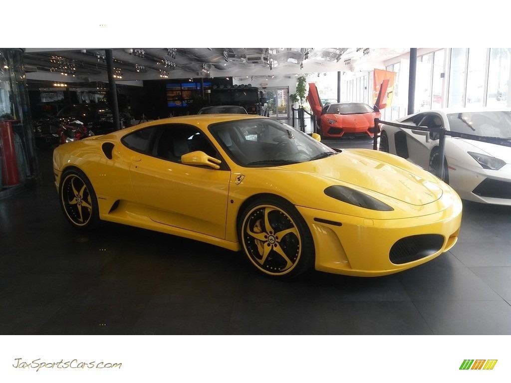 2005 F430 Coupe F1 - Yellow / Black photo #7