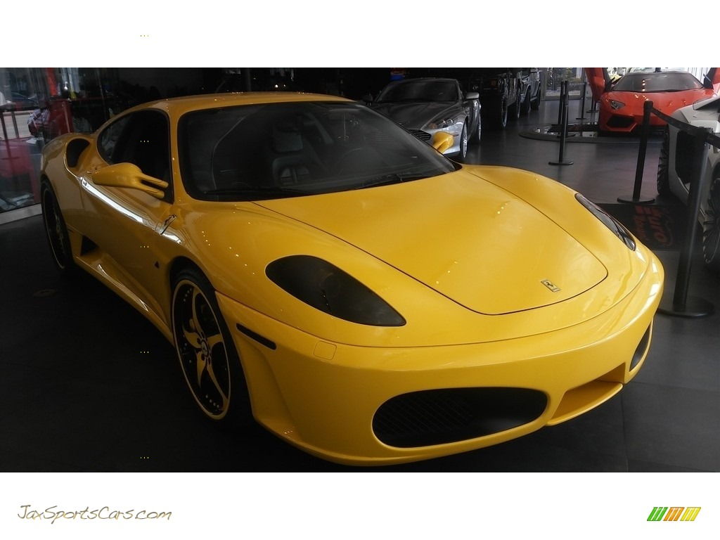 2005 F430 Coupe F1 - Yellow / Black photo #11
