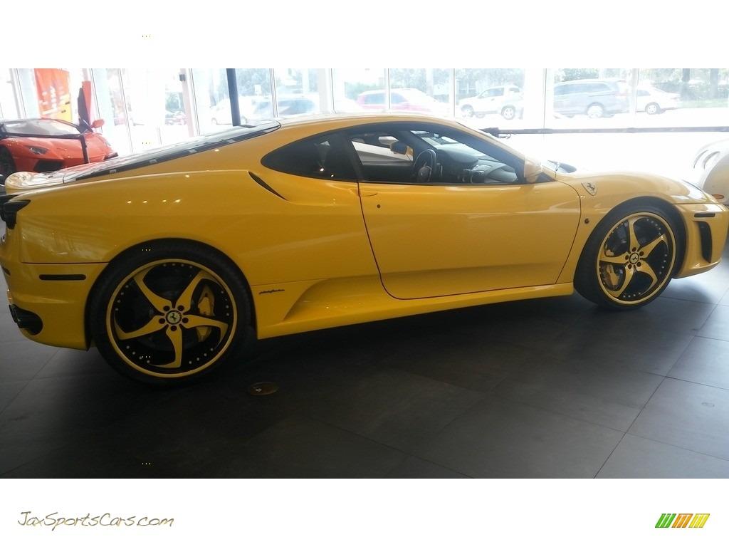 2005 F430 Coupe F1 - Yellow / Black photo #12