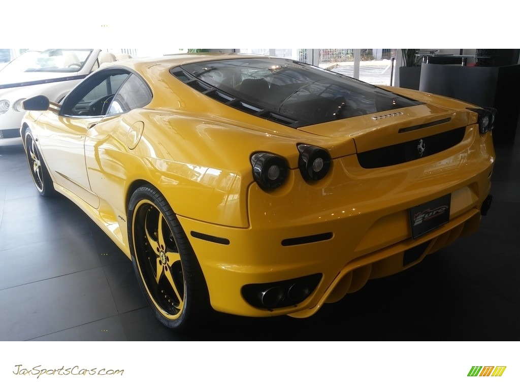 2005 F430 Coupe F1 - Yellow / Black photo #18