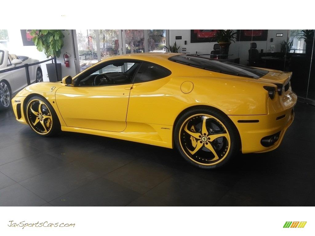 2005 F430 Coupe F1 - Yellow / Black photo #20