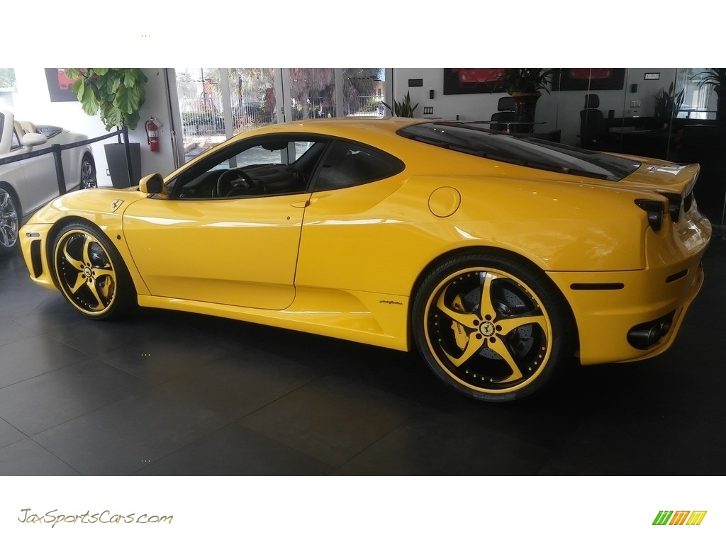 2005 F430 Coupe F1 - Yellow / Black photo #21