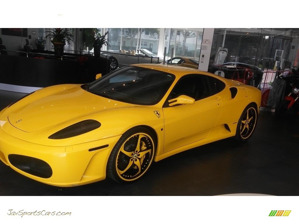 2005 F430 Coupe F1 - Yellow / Black photo #26