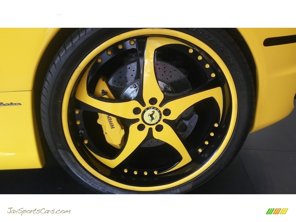 2005 F430 Coupe F1 - Yellow / Black photo #31