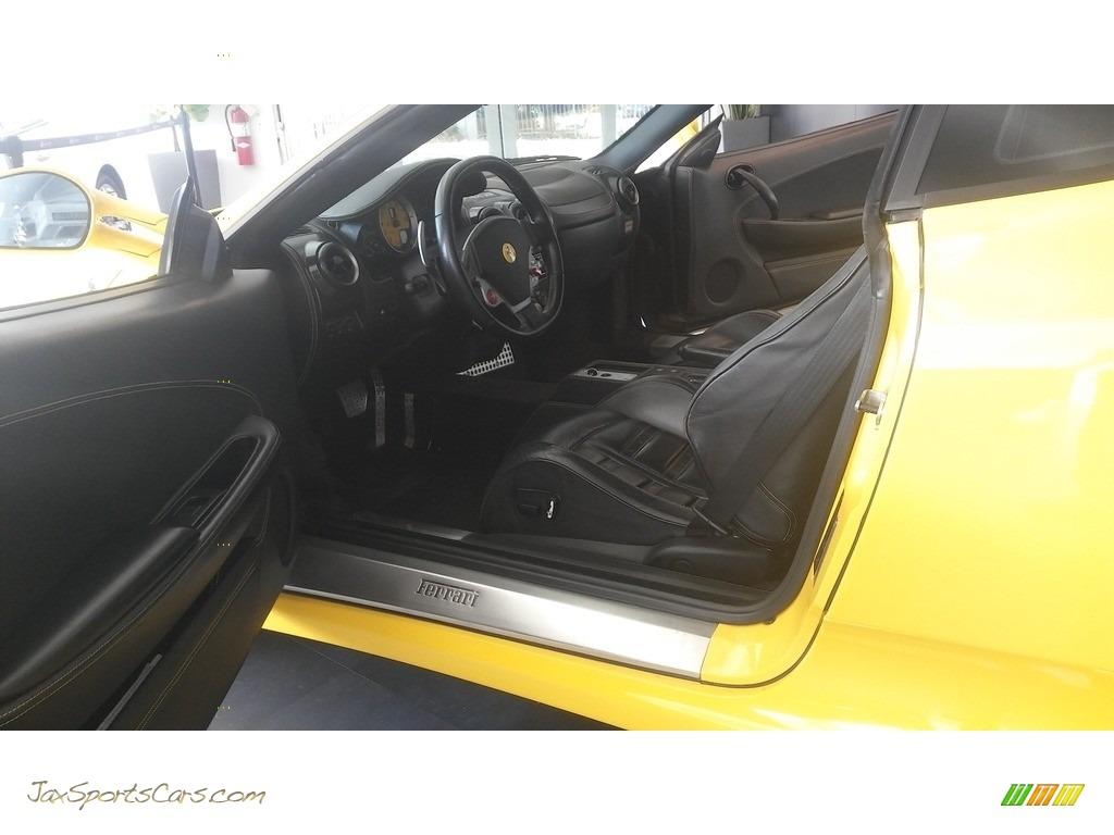 2005 F430 Coupe F1 - Yellow / Black photo #43