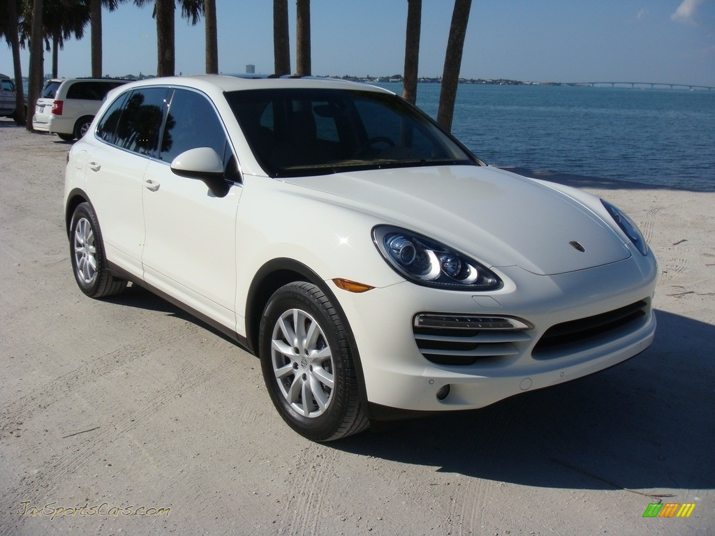 2011 Cayenne  - Sand White / Luxor Beige photo #1