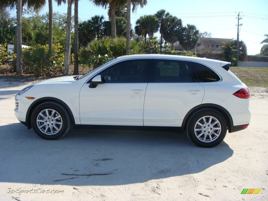 2011 Cayenne  - Sand White / Luxor Beige photo #4
