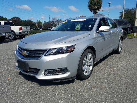 Silver Ice Metallic 2017 Chevrolet Impala LT