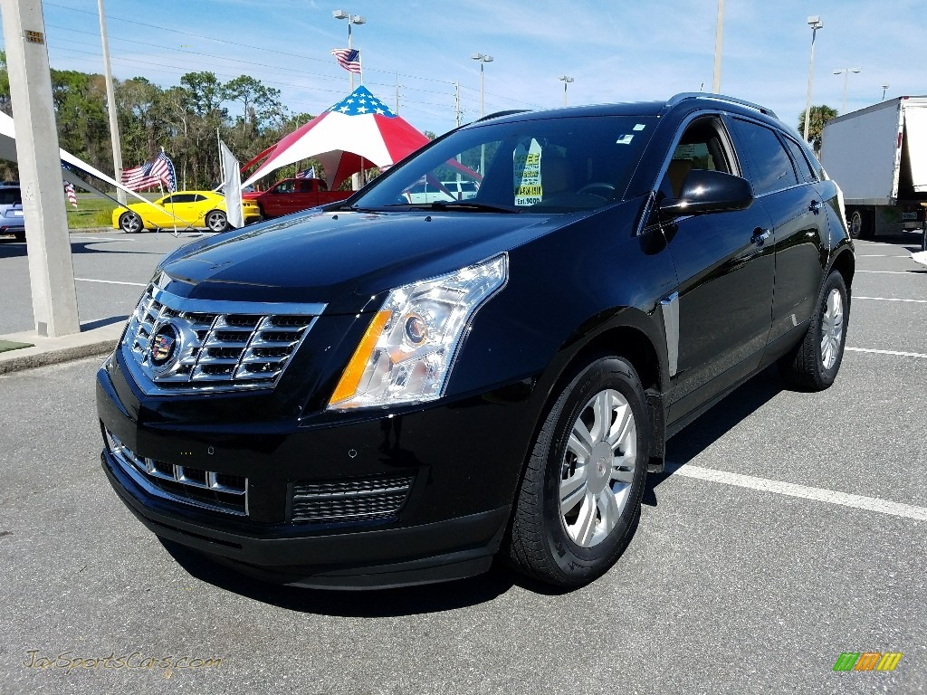 Black Raven / Shale/Brownstone Cadillac SRX Luxury