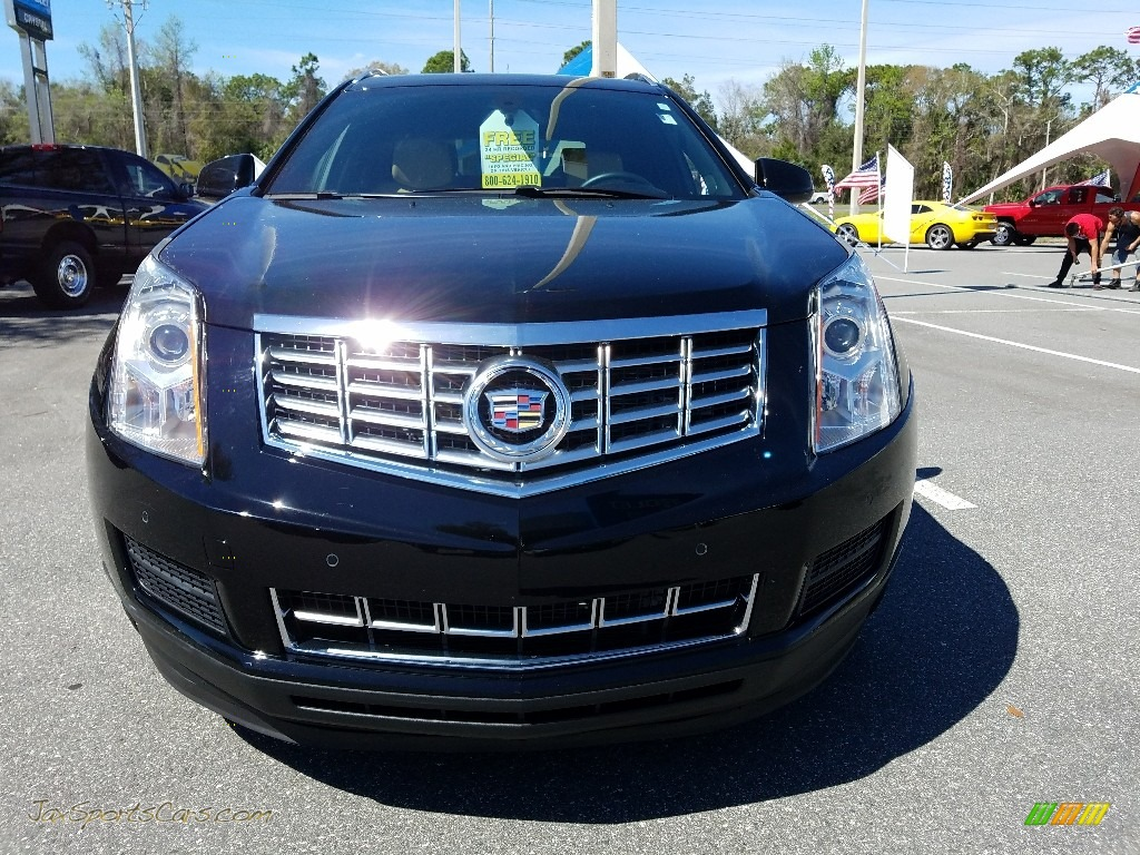 2015 SRX Luxury - Black Raven / Shale/Brownstone photo #8
