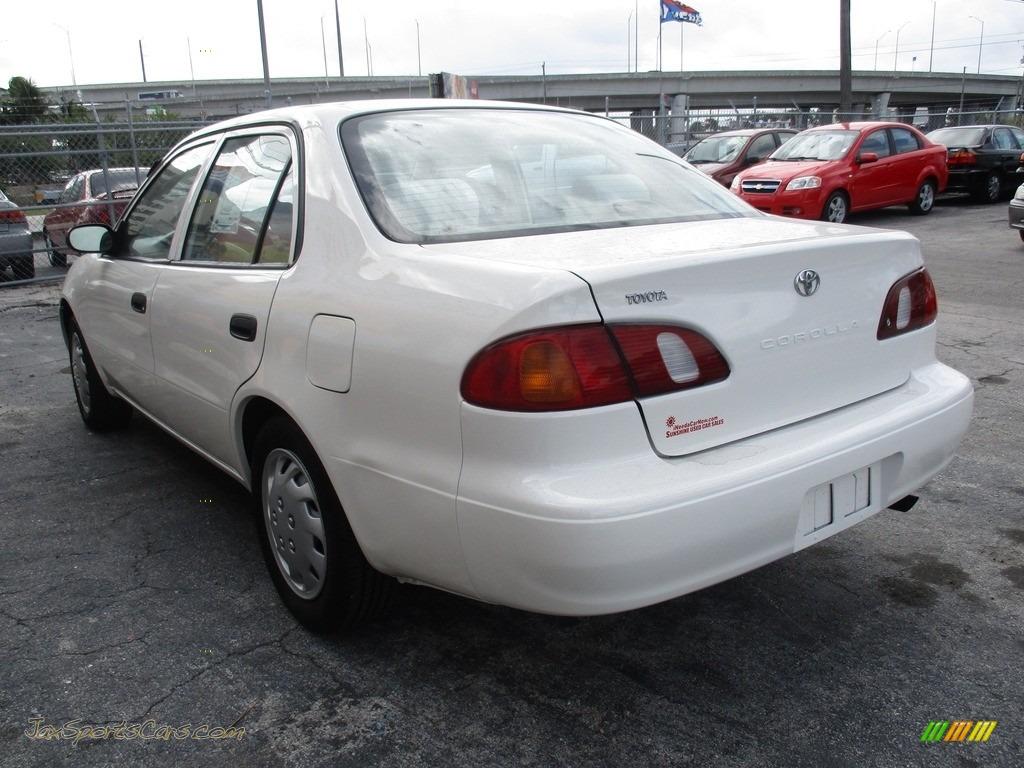 1999 Corolla VE - Super White / Pebble Beige photo #6