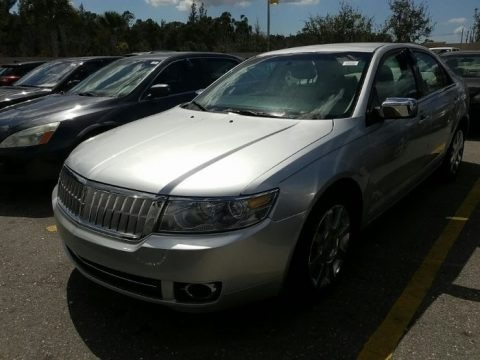 Vapor Silver Metallic 2009 Lincoln MKZ Sedan