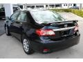 Toyota Corolla LE Black Sand Pearl photo #6