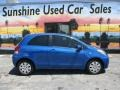 Toyota Yaris 3 Door Liftback Blazing Blue Pearl photo #3