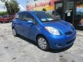 Toyota Yaris 3 Door Liftback Blazing Blue Pearl photo #5