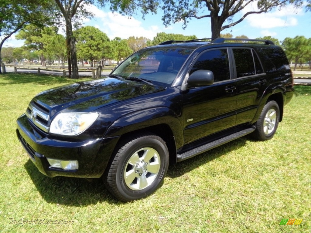 2005 4Runner SR5 - Black / Stone photo #1