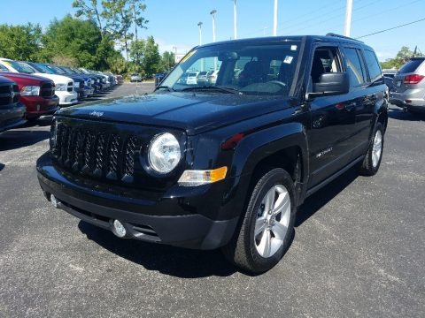 Black 2017 Jeep Patriot Latitude