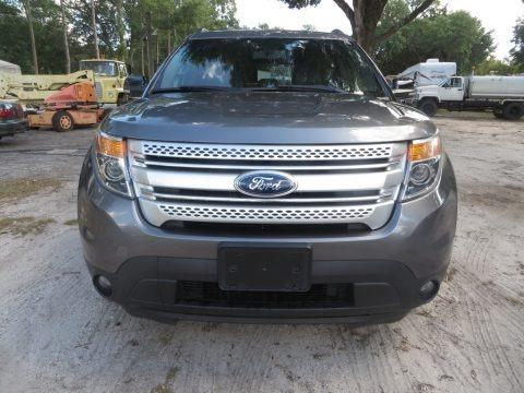 Sterling Gray 2014 Ford Explorer XLT