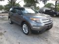 Ford Explorer XLT Sterling Gray photo #2