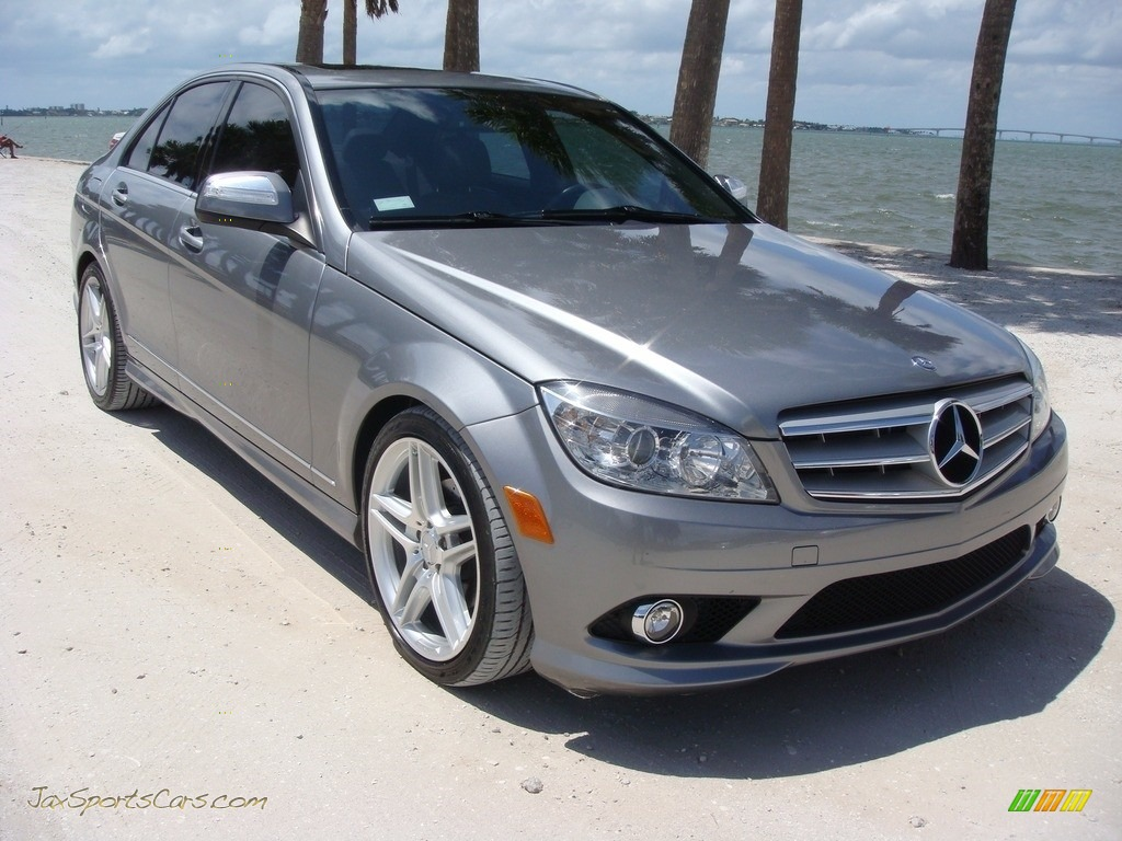 2008 C 300 Luxury - Steel Grey Metallic / Savanna/Cashmere photo #1