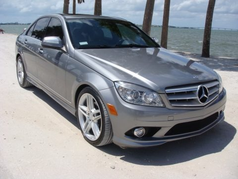Steel Grey Metallic 2008 Mercedes-Benz C 300 Luxury