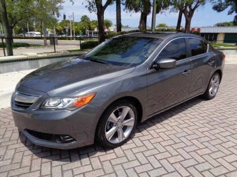 Polished Metal Metallic 2013 Acura ILX 2.0L Technology