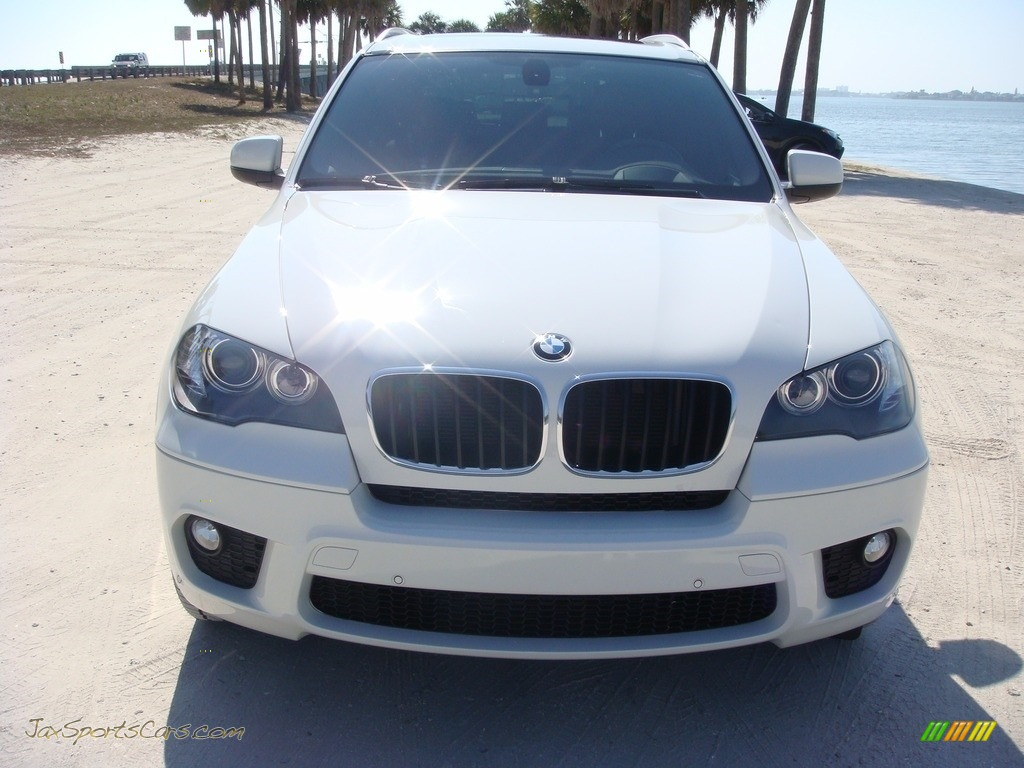 2011 X5 xDrive 35i - Alpine White / Cinnamon photo #2