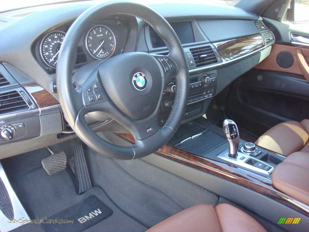 2011 X5 xDrive 35i - Alpine White / Cinnamon photo #12