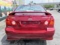 Toyota Corolla S Impulse Red photo #5