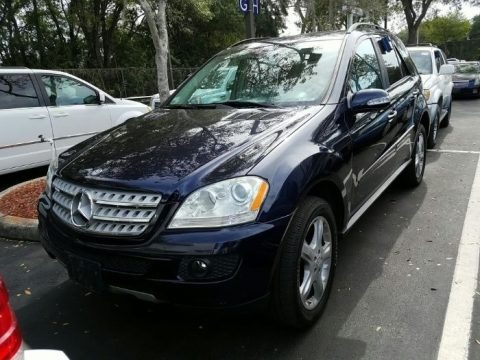 Capri Blue Metallic 2008 Mercedes-Benz ML 320 CDI 4Matic