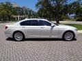 BMW 7 Series 750Li Sedan Mineral White Metallic photo #11