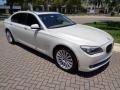 BMW 7 Series 750Li Sedan Mineral White Metallic photo #13