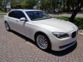BMW 7 Series 750Li Sedan Mineral White Metallic photo #21