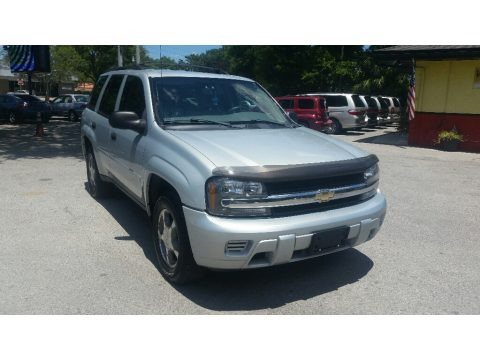 Moondust Metallic 2007 Chevrolet TrailBlazer LS 4x4