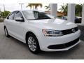 Volkswagen Jetta SE Sedan Pure White photo #2
